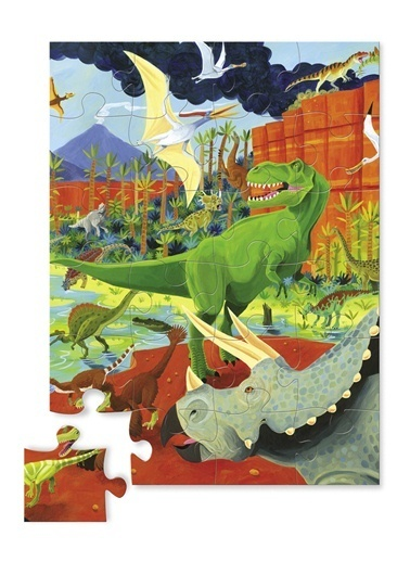 Crocodile Creek Puzzle Renkli